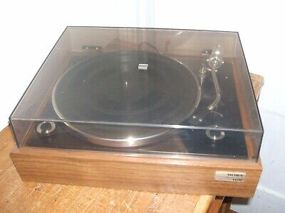 Sony Turntable PS-1100 Idler Drive Record Player + Stanton D-51 Stereo Cartridge