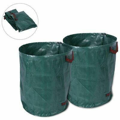 Refuse Rubbish Sack Bin with Double Stitched Handle Recycling Garbage Trash Bags