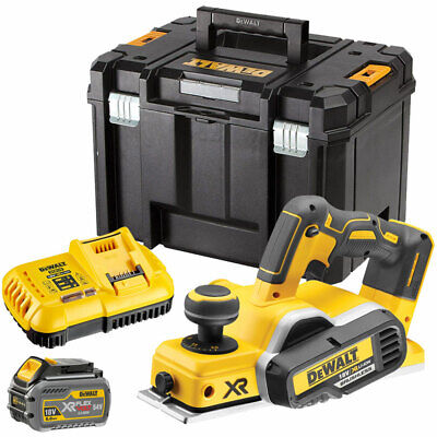Dewalt DCP580T1 18V Brushless Planer with 1 x 6.0Ah Battery & Charger in TSTAK