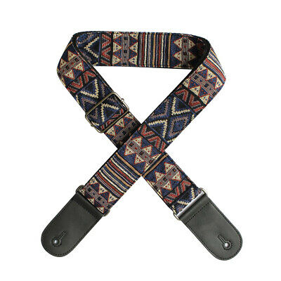 Poly Guitar Strap Belt With Shoulder Pad Lock End For Electric Guitar Bass Sale