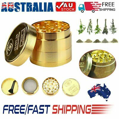 40MM Metal Zinc Alloy Tobacco Herb Grinder 4-Layers Hand Muller Smoke Crusher MA