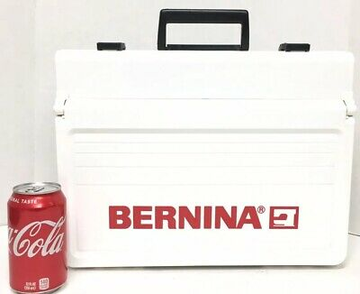 Bernina Case W/Notions White  Sewing Accessory Carry Box Customize Compartments