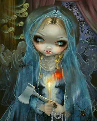 Jasmine Becket-Griffith Disney Haunted Mansion Bride Diamond Painting Kit 40x50
