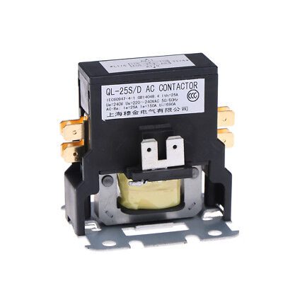 Contactor single one 1.5 Pole 25 Amps 24 Volts A/C air conditioner~GQ