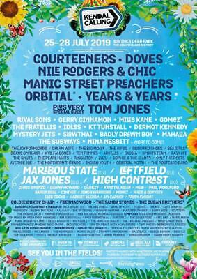 2 Kendal Calling weekend Tickets Plus Camping, 2 Thursday tickets