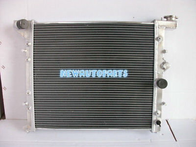 56mm aluminum radiator for Toyota Mark II//CHASER JZX100 X100 1JZ-GTE MT 96-01