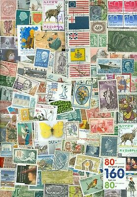4 kilo STAMPS WORLDWIDE MIXTURE OFF PAPER FROM CHARITY ABOUT 80.000 STAMPS