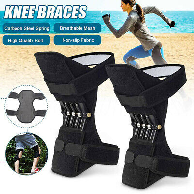 Power Knee Stabilizer Pad Lift Joint Support Powerful Rebound Spring Force