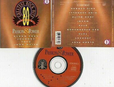 Various-80'S Greatest Rock Hits Vol. 1: Passion & Power Cd (Journey/Toto/Styx)
