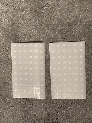 120X McDonalds Coffee Bean Loyalty Stickers McCafe 31/12/19 expiry date
