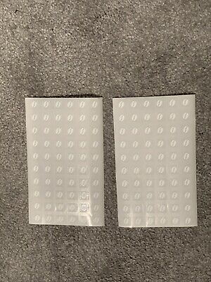 240 X McDonalds Coffee Bean Loyalty Stickers McCafe 31/12/19 expiry date