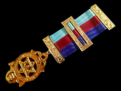 masonic regalia-ROYAL ARCH- ROYAL ARCH CHAPTER RA PROVINCIAL BREAST JEWEL ( NEW)