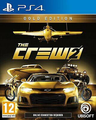 The Crew 2 Gold Edition | deutsch | Playstation 4 PS4