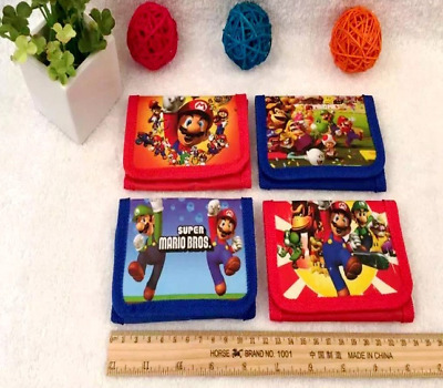 New 1 Pcs Cartoon Super Mario Children's Purses Wallets kids Birthday party Gift