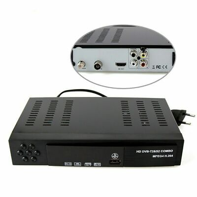 Decoder Digitale Full HD 1080p Combo Terrestre & Satellitare DVB T2-S2