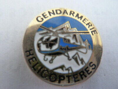 Pin's Gendarmerie Nationale / Helicopteres   / Alpes Trophees    /  Rare