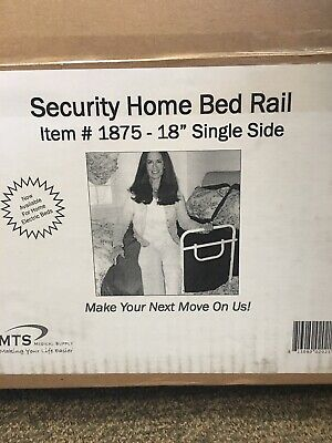 "MTS Security Home Bed Rail #1875 -18"" Single Side"