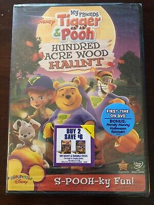 My Friends Tigger  Pooh: Hundred Acre Wood Haunt (DVD, 2008) Mfg. Sealed