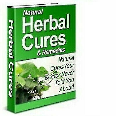 Natural Herbal Cures and Remedies E-Book PDF and master resale