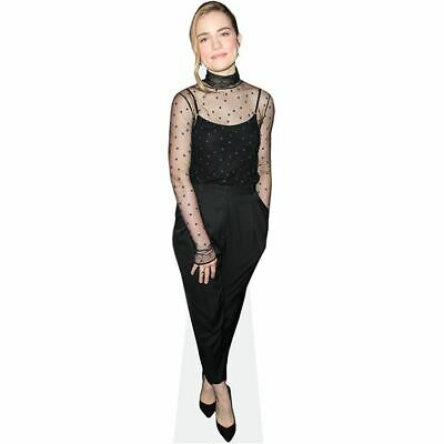 Standee. Cardboard Cutout lifesize Charlotte Beaumont Black Outfit