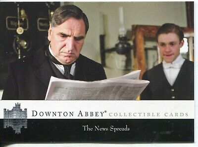 Downton Abbey complete seasons 1&2 trading card set - 126 cards