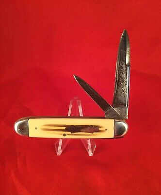 Vintage WM Enders pocket knife early EC Simmons 1908-13 rare old antique lot.