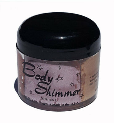 Bronzer Shimmer Hair Body Gel Four Colours Body Glitter with Vitamin E