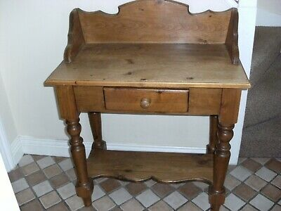 Antique Pine/  Dressing Table  / Hall Table / Washstand
