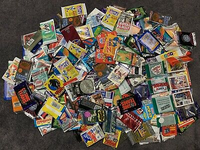 Vintage Non-Sport Sport Trading Cards/Stickers Packs Lot Of 260+ Assorted