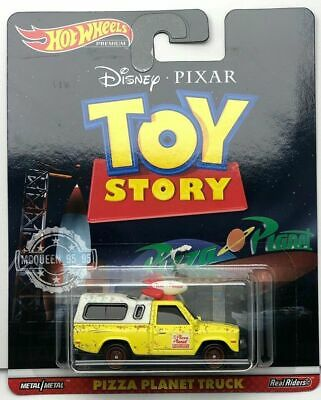 Hot Wheels 2019 Premium Retro Entertainment DISNEY TOYSTORY PIZZA PLAANET TRUCK