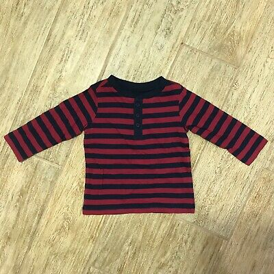 NEW First Impressions Baby Boys Henley Striped T-Shirt, Multicolor 12M, 18M, 24M