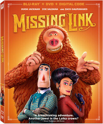 Missing Link (2019, Blu-ray NEW)2 DISC SET