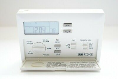 LUX PROGRAMMABLE THERMOSTAT - $64 95 | PicClick