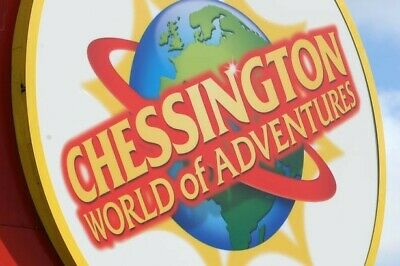 2 Chessington adventure E tickets for August 23rd can be used for adult or child