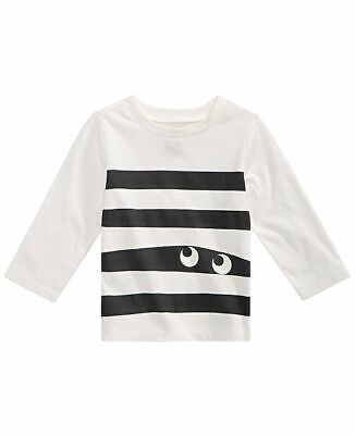 NEW First Impressions Baby Boys Monster Eyes T-Shirt, 3-6M, 24M