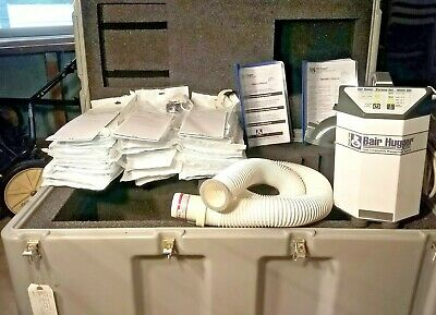 Arizant 3M Bair Hugger 505 Patient Warming System Protective Case 30 Blankets