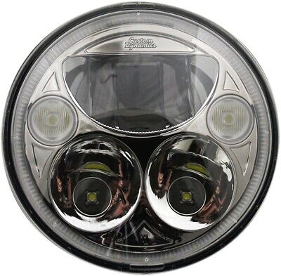 Custom Dynamics TruBeam LED Headlight CDTB-575-C Harley