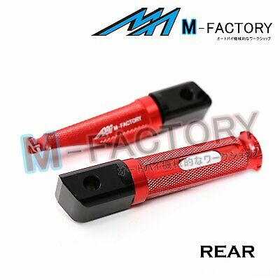 Fit MV Agusta F4 1000 07+ Red Passenger Footpegs Footrests