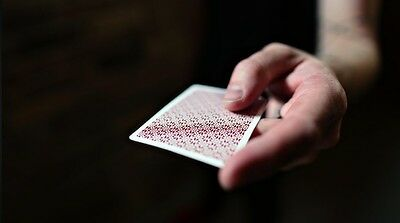 Red Bordered Dealers by Daniel Madison Playing cards by ellusionist USPCC-