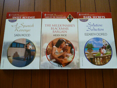 LOT/6 HARLEQUIN PRESENTS Romance Books !!! - $3 99 | PicClick