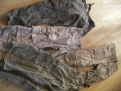 Boys Size 4 Pumpkin Patch Cargo/ Pants Lot of 4 pairs