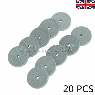 20mm Grinding Polishing Wheels Mounted Stone Buffing Disc Rotary Tool