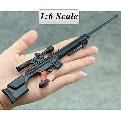 "PSG-1 Sniper Rifle Weapon Gun For 1/6 Scale12"" Action Figure 1:6 Model Toy"