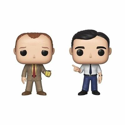 Funko Pop! Television: - The Office - Toby & Michael 2pk (Toy Used Very Good)
