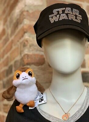 Disney Parks Star Wars Galaxy's Edge Shoulder Porg Plush Toy from The Last Jedi