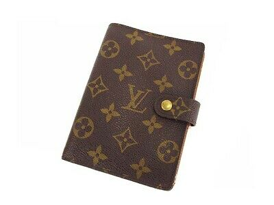 Louis Vuitton Monogram Agenda PM Day Planner Notobook Cover Case R20005 LV Used