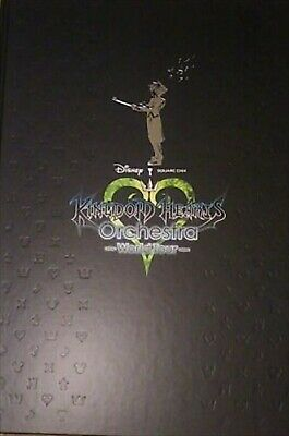 KINGDOM HEARTS Orchestra World Tour Art Book Official Brochure Pamphlet