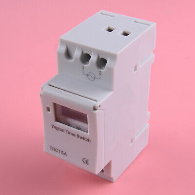 LCD Programmable Timer AC 220V 16A Time Control Relay Switch 2VA(max)