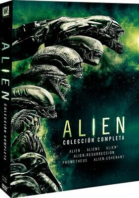 Pack Alien - Coleccion completa