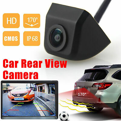 170° HD Car Rear View Reverse Back up Camera Waterproof Night Vision For Display